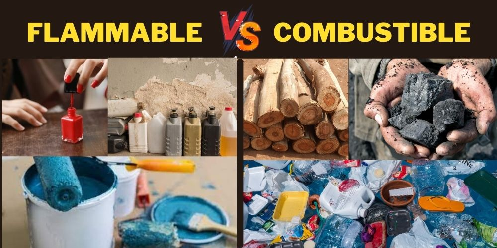 flammable vs combustible
