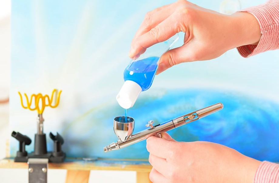 thinning acrylic paint